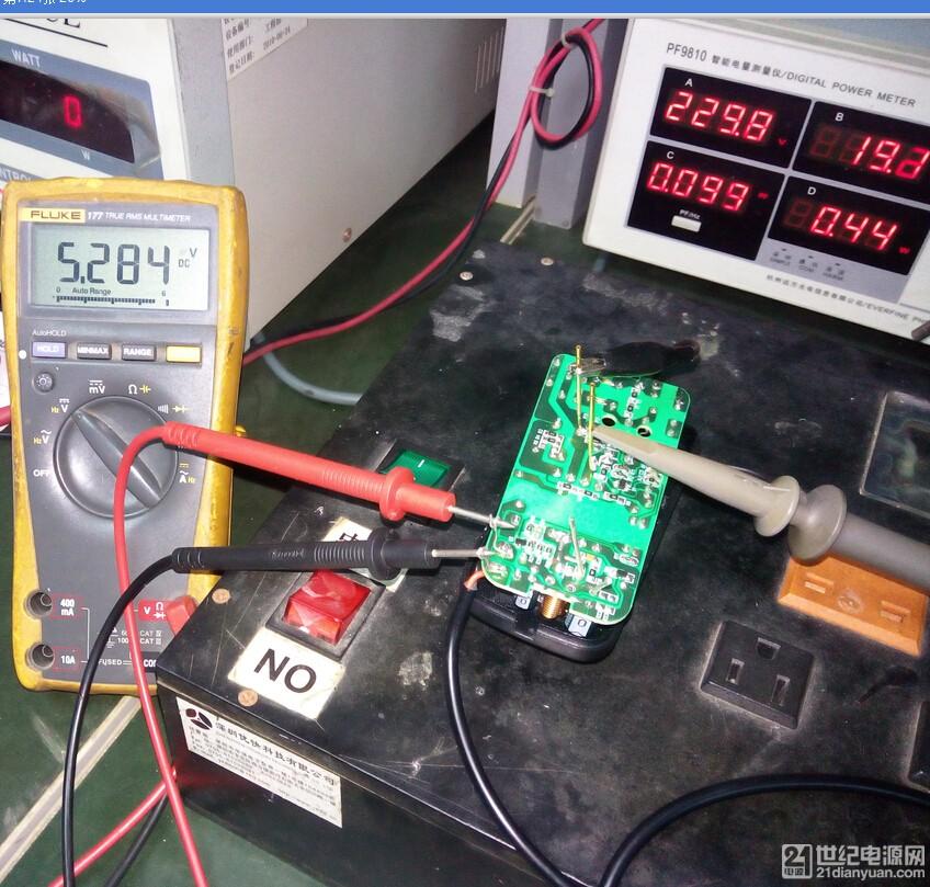 板端空载电压