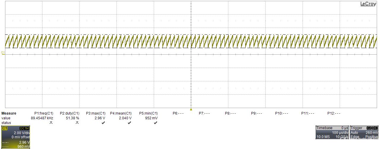 2843 RT端波形