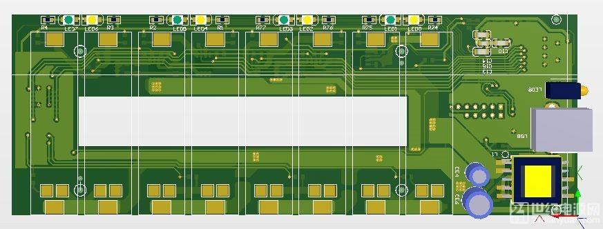一位好友建议:充电器能用5V工作会更好。 考虑了一下,因第三版已取消了 TL494 和 IR2111S,全由 MCU 处理,是可以在 5V 下正常工作的。 今天把程序改了改,现已能 5~12V 都可以正常充电。 考虑到电脑 5V USB口,只能输出 500mA,所以 5V 输入时,只能一节一节排队充电。 这样慢充,大约3小时可以充1节 2000mAh电池,充8节要 24小时。