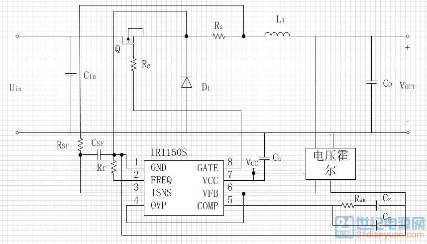 关于ir1150的buck电路驱动疑问