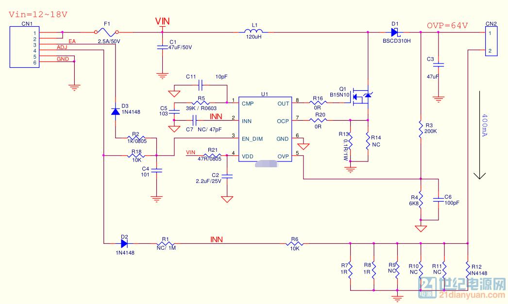 ic内部有软启动,但启动时候电感电流波形还是会出现尖峰电流