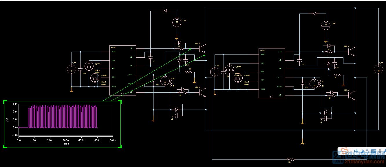 ir2110驱动电路设计