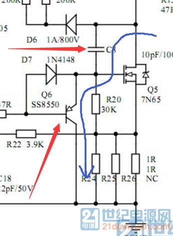 这种驱动结构有什么优点? C8 电容的作用是什么?