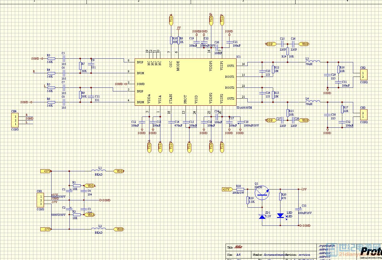 -+37V/6.75A系统的输入滤波电容设计 本电源的设计指标如下: 输入交流电压:单相220VAC(-20%斗15%),50Hz(10%); 输出电流:6.75A; 输出电压+-37V(稳压型); 开关频率:25kHz; 整机效率:r/90%; 最大输出功率:500W。 那么按照上述方法,本电源的输入电容的计算过程如下。在最低输入交流 电时,取整流滤波后的直流电压得最大脉动值是最低交流电压峰值的20%。那 么按照步骤计算C胁的容量为: 1)输入交流电的线电压有效值的变化范围:176V-253V(AC)