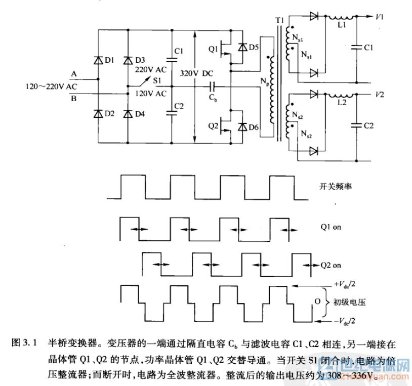 半桥电路中隔直电容选择