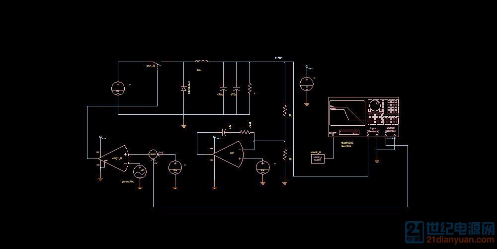 主功率回路电路图