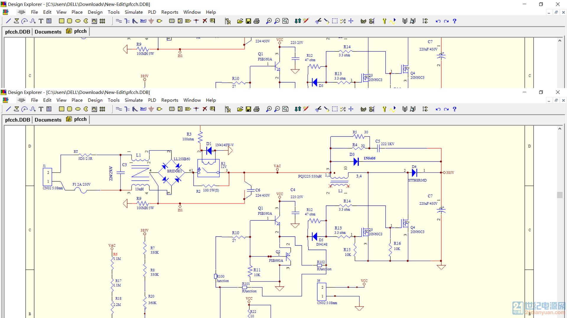 ucc28019 不工作 ,附电路图,pcb,测试数据,电感设计