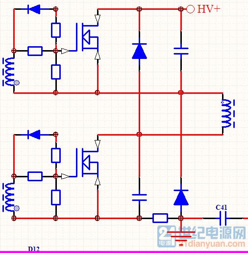 上下管只公用一个驱动变压器,再各用一个图腾柱不就省事很多了?