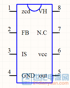 fa5587电源芯片电路图