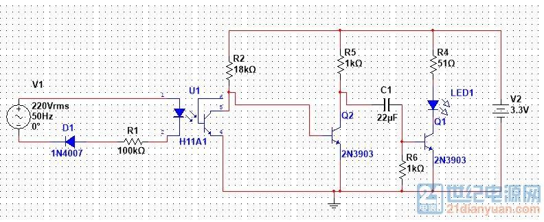 741矩形方波电路图