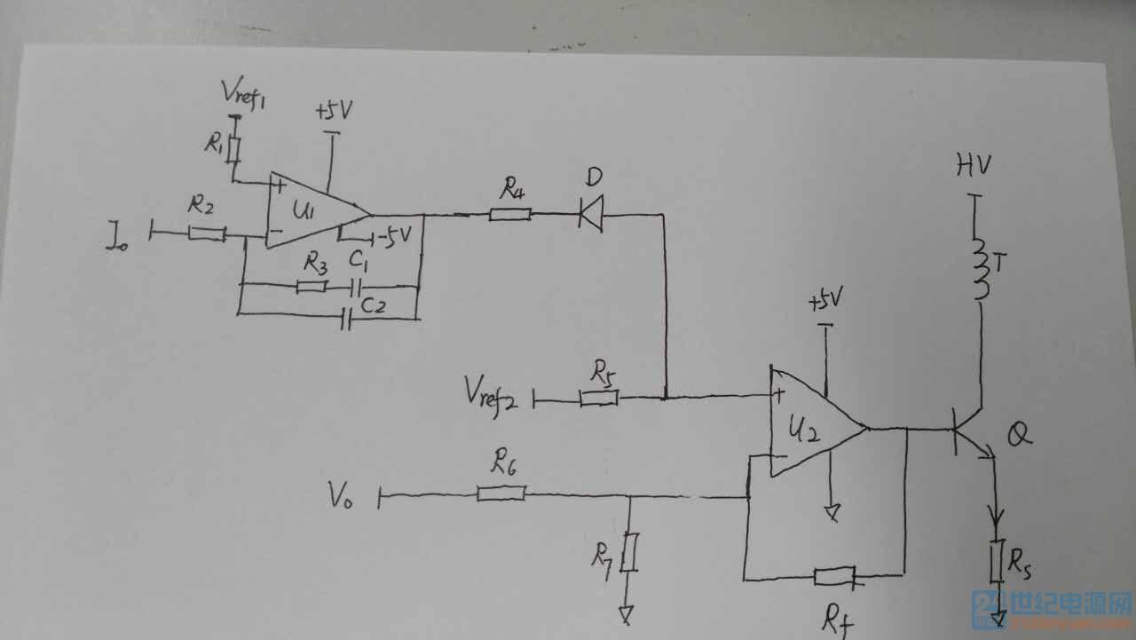 历届会议资料  各位大师,最近碰到一个电池充电环路控制的电路,对u1的