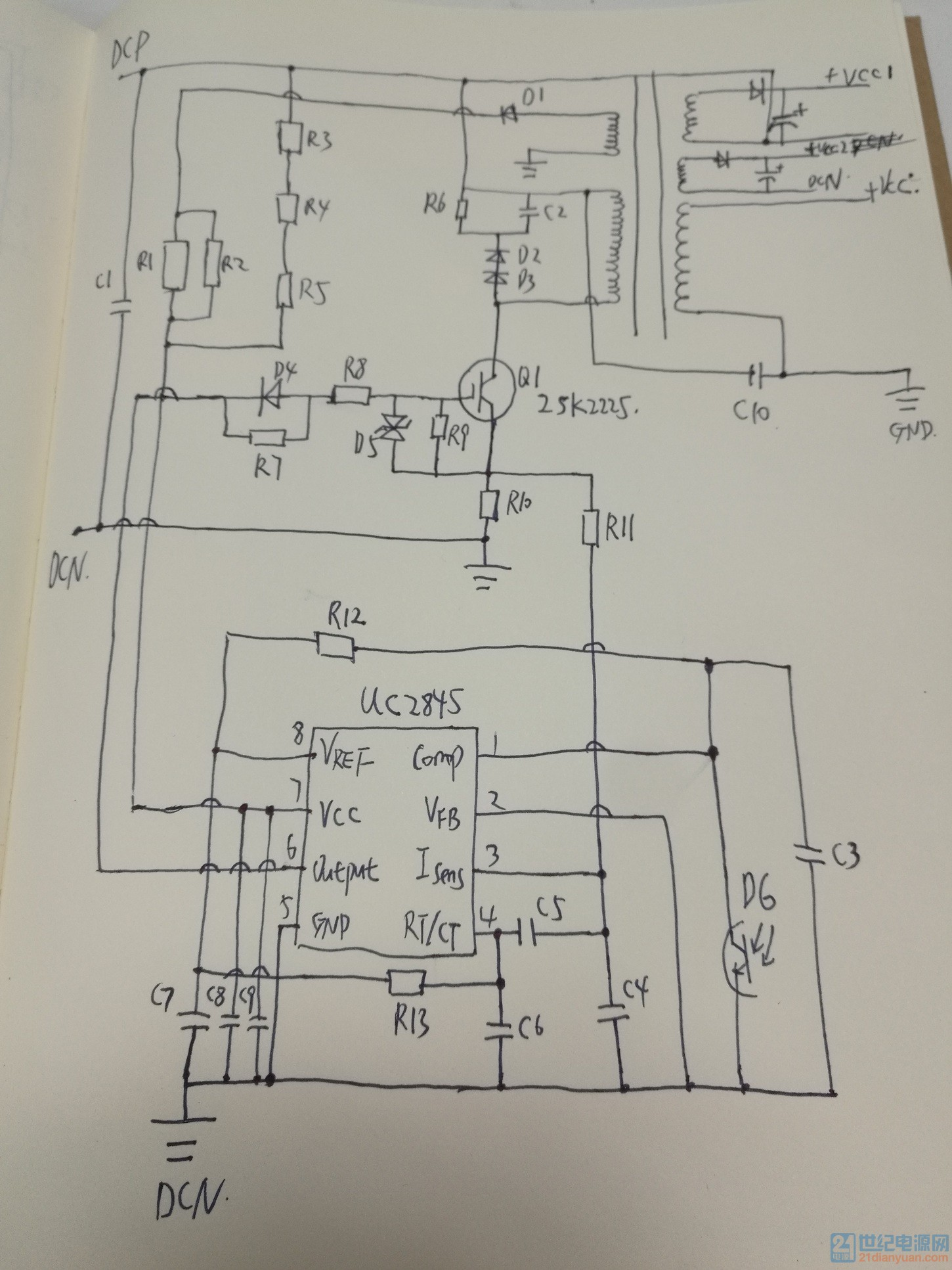 电路以及元器件分析