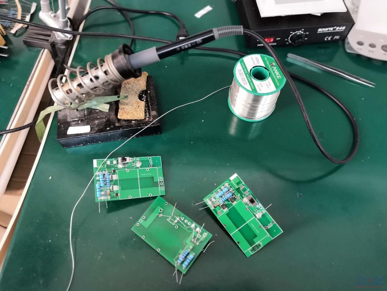 焊接电路板