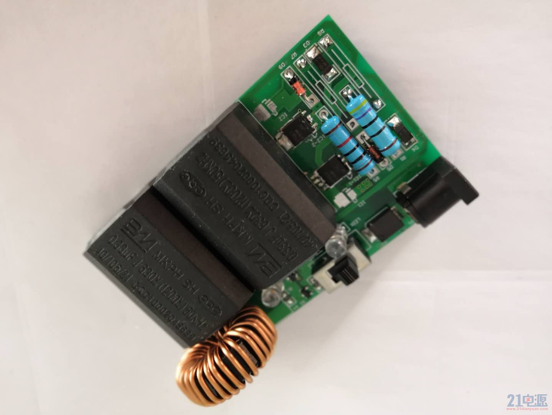 焊接完成电路板