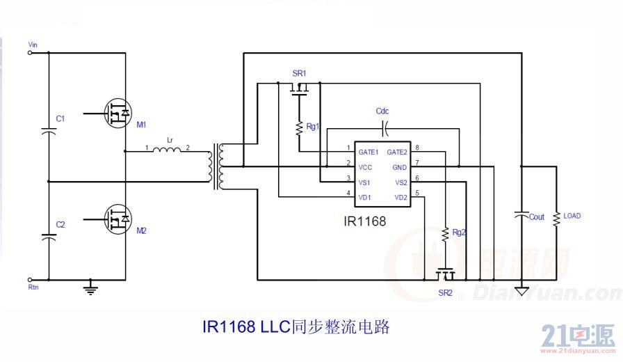 LLC控制IC驱动式同步整流技术