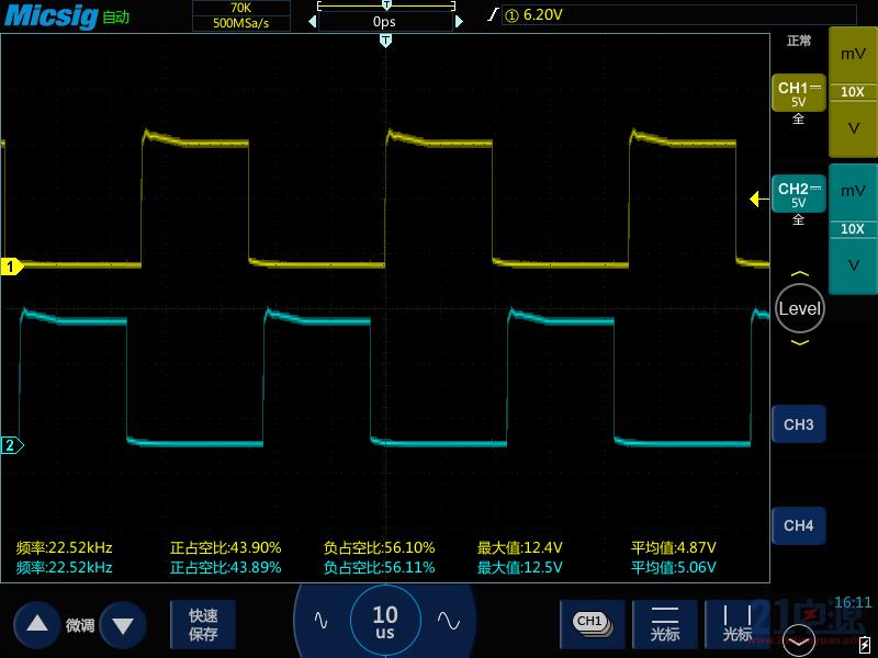 采用推挽拓扑电路, 用sg3525 772/882图腾, 驱动一对if3205输出