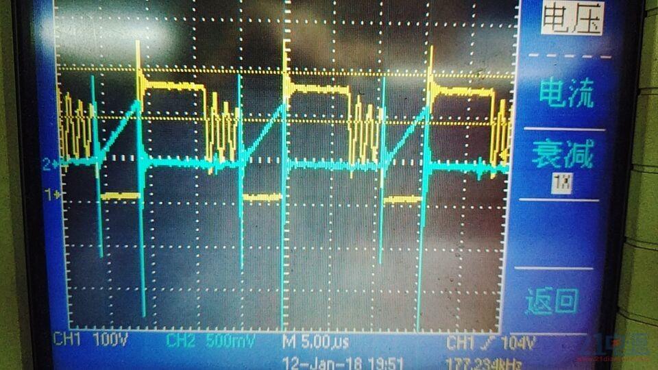 VDS+CS电压波形