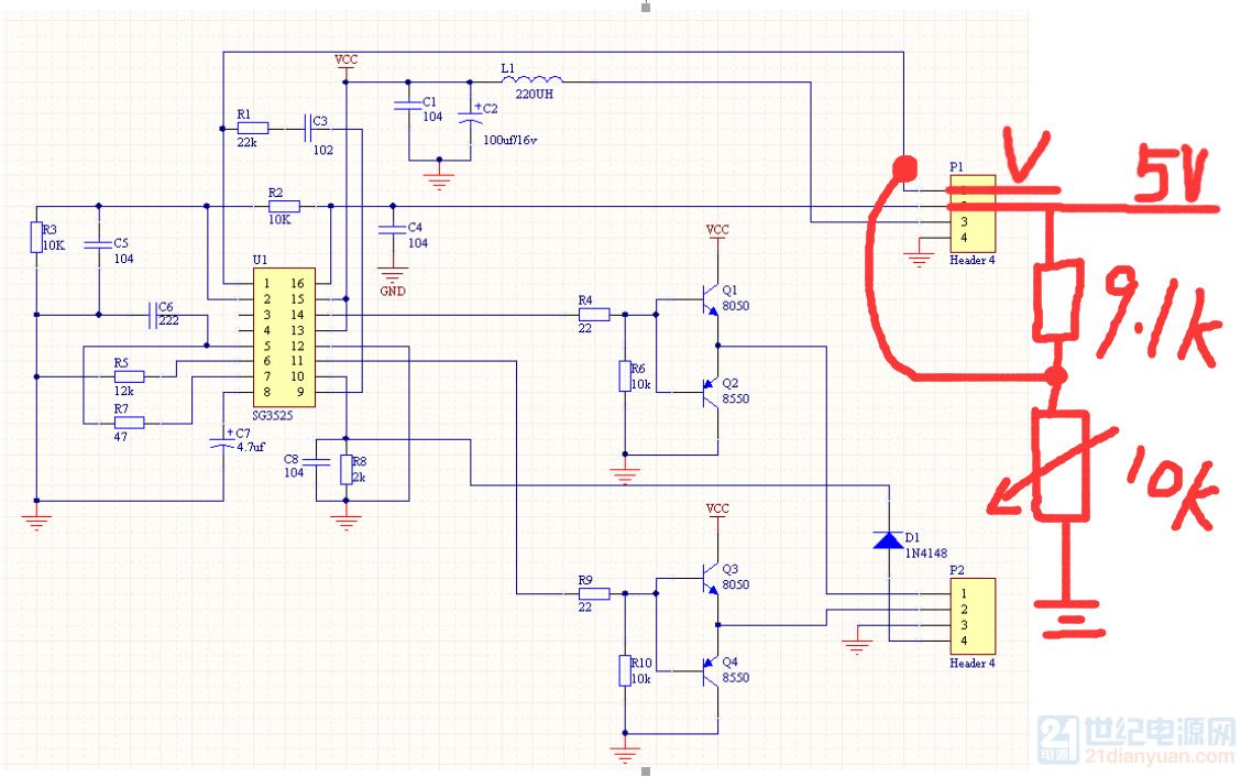 用7815稳压的电压, 360是直流母线电压这个是我调试的时候改的电路,这