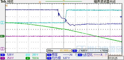 上管、谐振电流、输出电压波形8.PNG