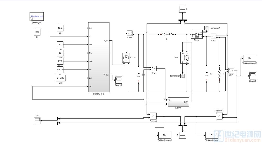 另外如果boost电路后面接逆变器的话,电阻应该去掉,这样原来设计的