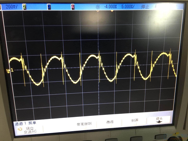 谐振电流波形