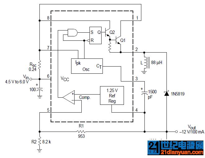 MC34063应用电路