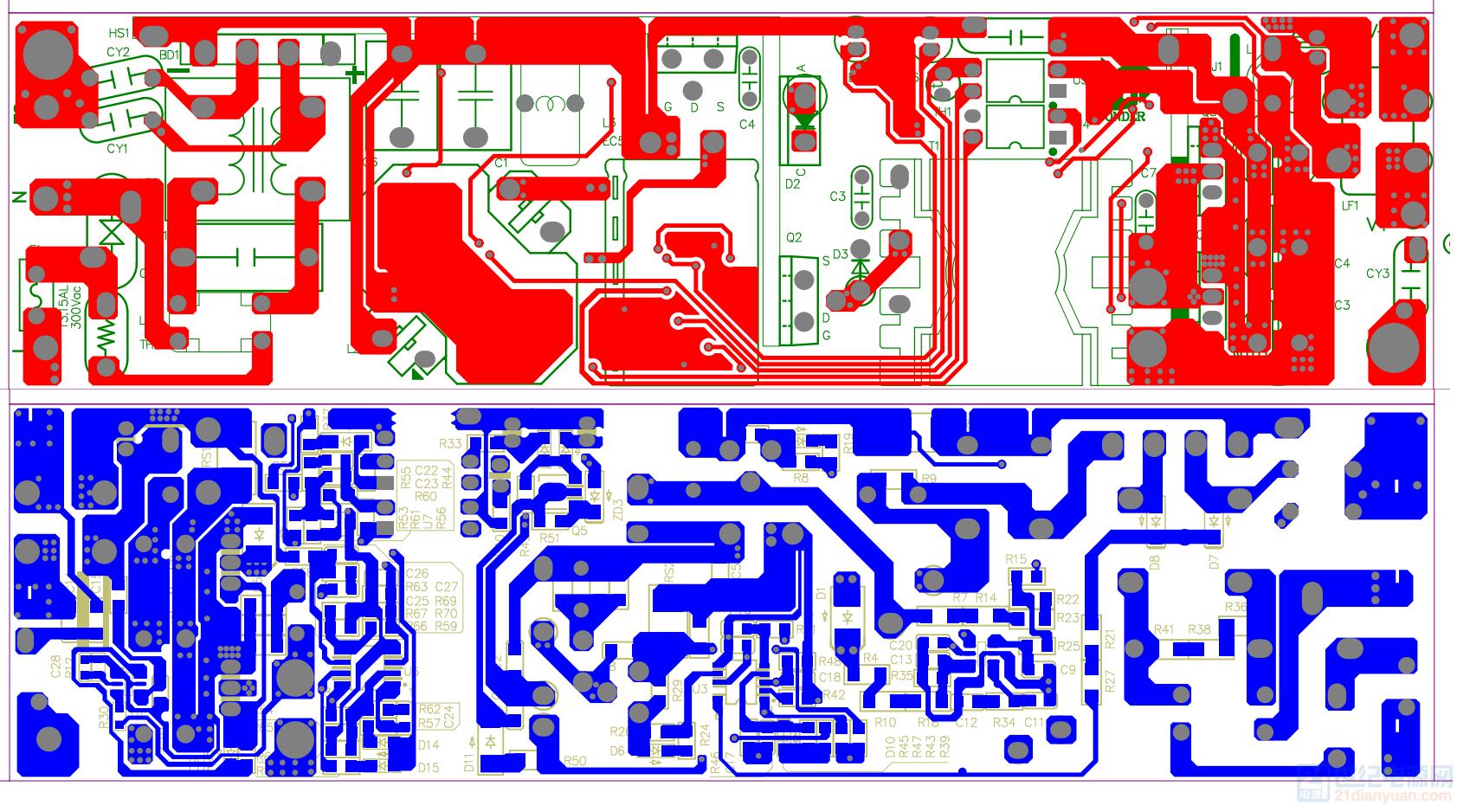 60W PCB