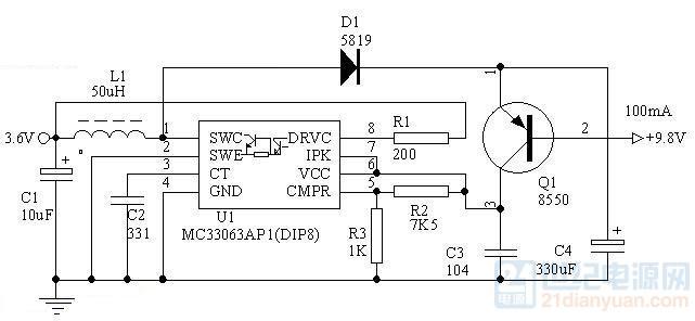 1,lm358碱性电池充电器电路图 碱性电池能否充电的问题,有两种不同的