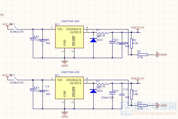 绿光  和激光管电源驱动部分.png