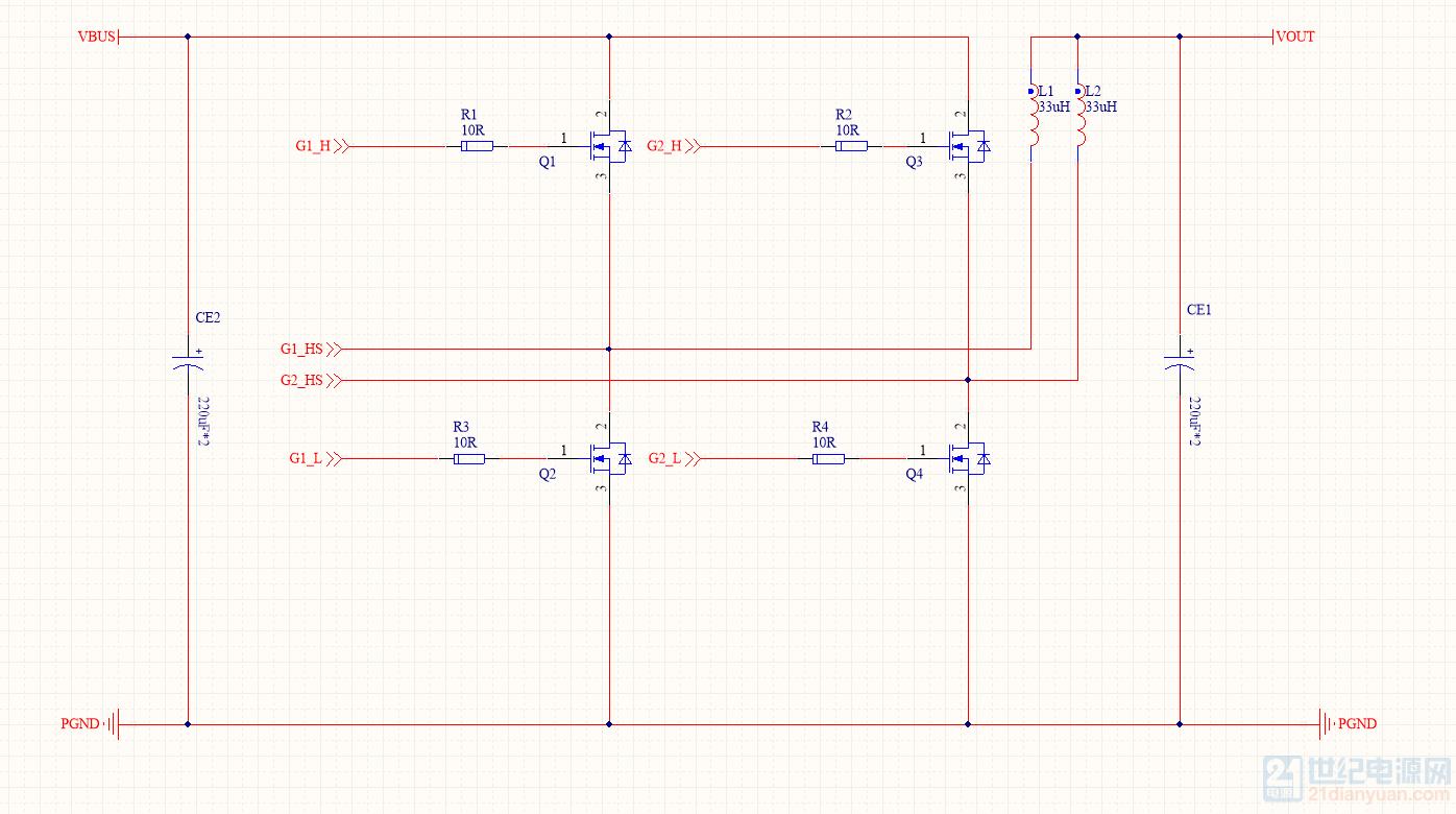 求助 两相交错同步整流buck电路输出电压与占空比关系问题?