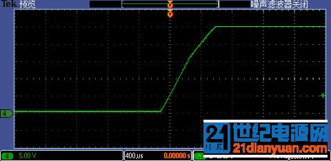关断IGBT  CE电压波形