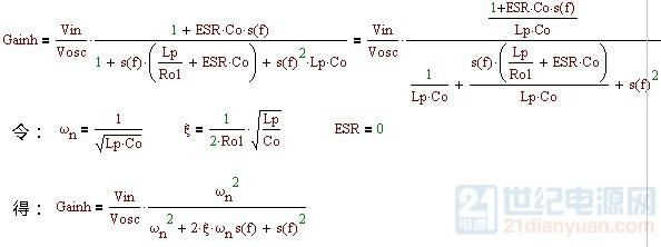 电路可视为典型二阶系统,下面就准备对比阻尼系数和相位余量的关系.