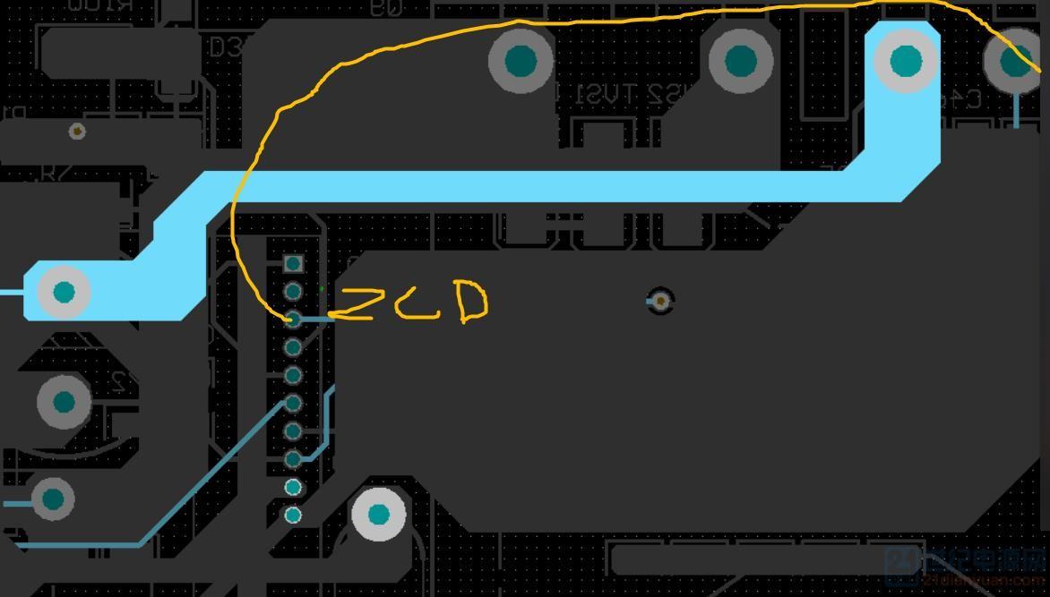 zcd 重新飞线至变压器的脚