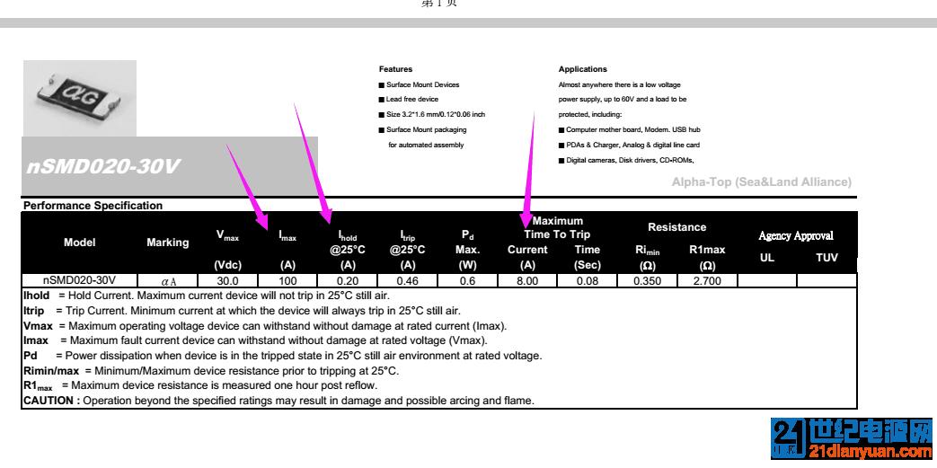 PTC温度保险丝最大电流、保持电流、断开电流,这三个电流怎么测试?.png.png