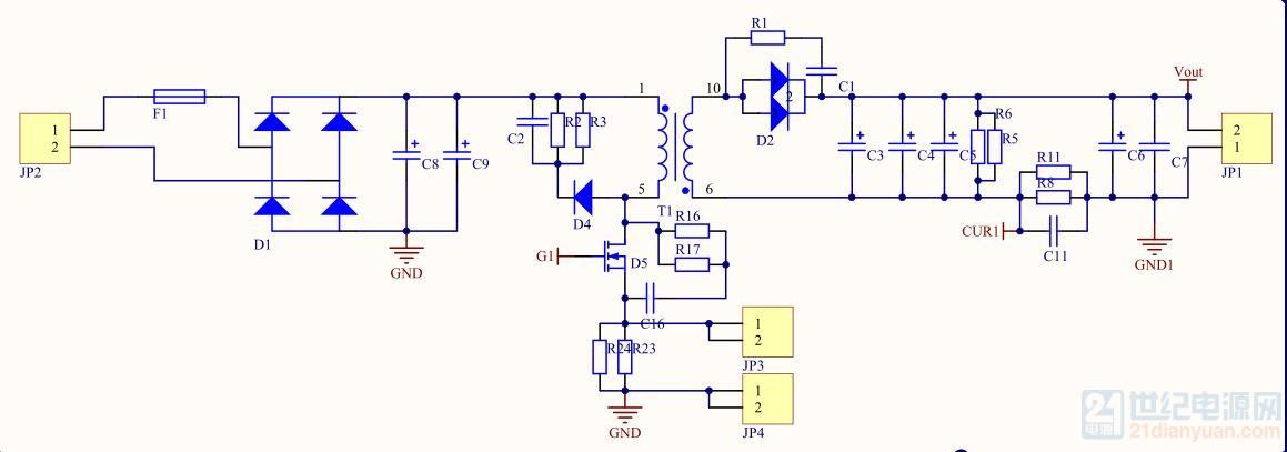 主功率电路