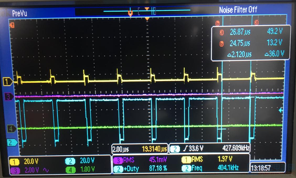 输出电压40V