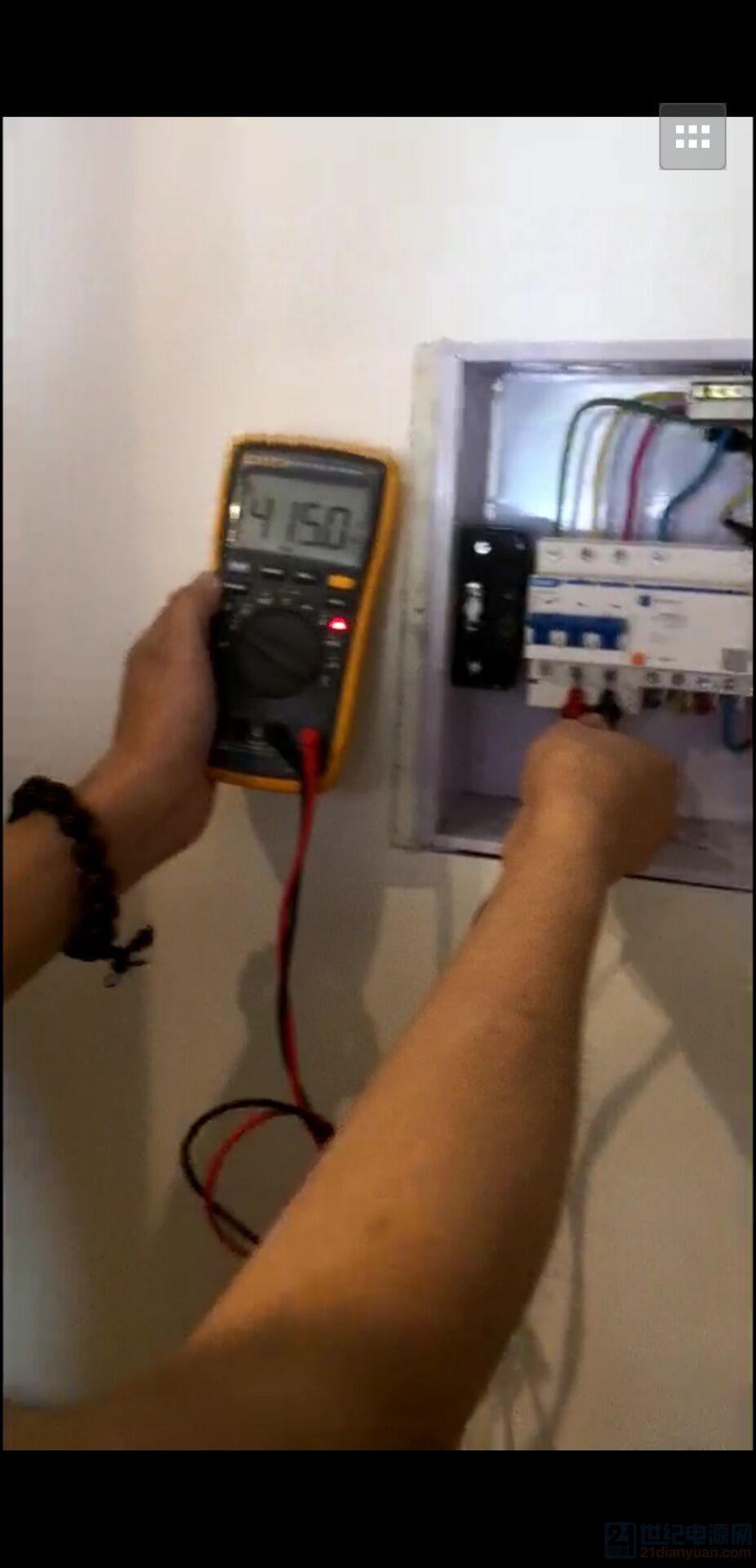客户这里是380V的三相四线制电箱