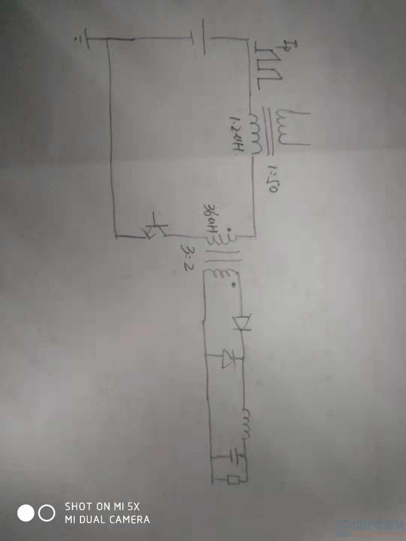 正激电路初级电流采样互感器的励磁电流及压降计算