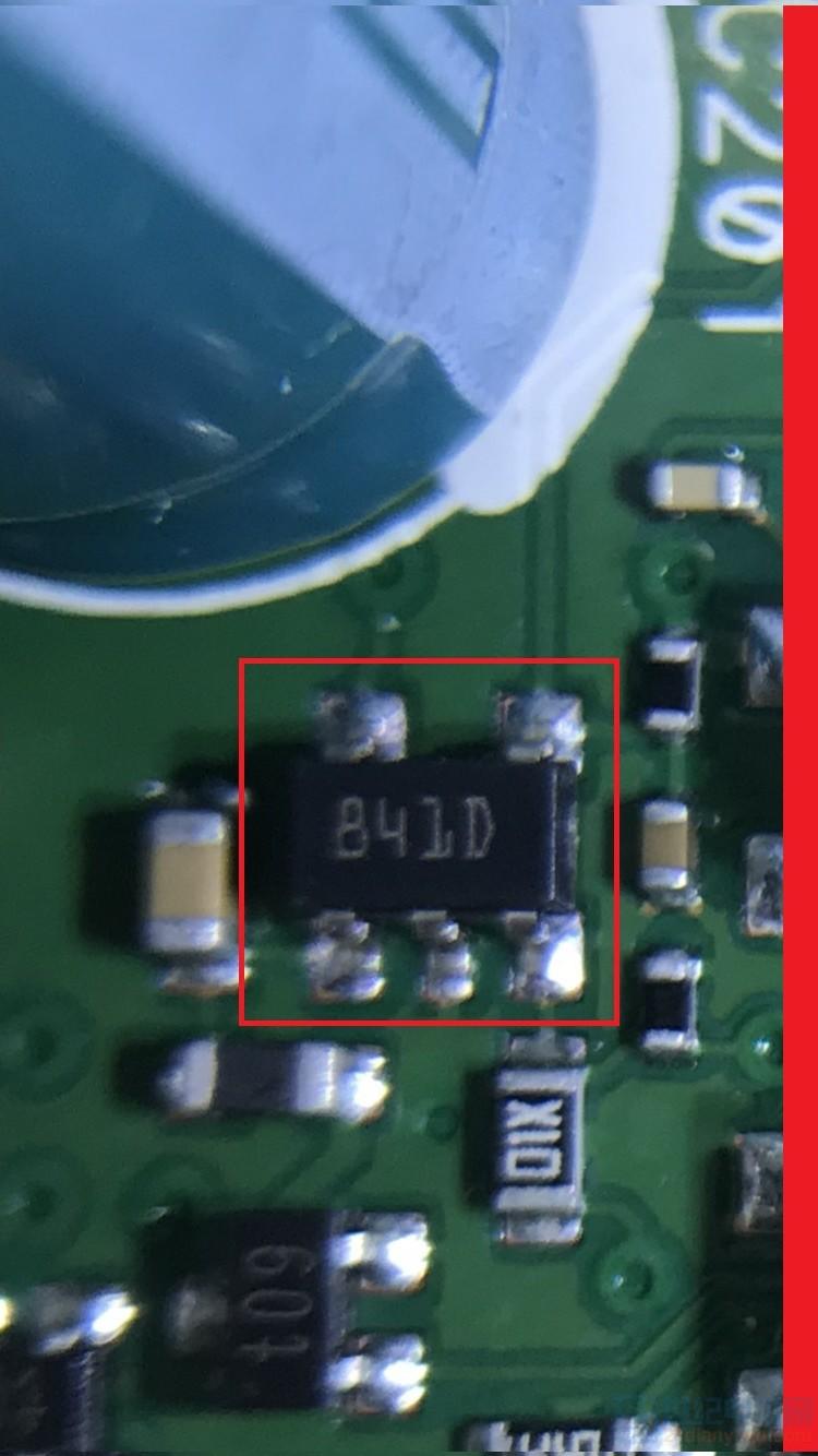 紅框標示之IC