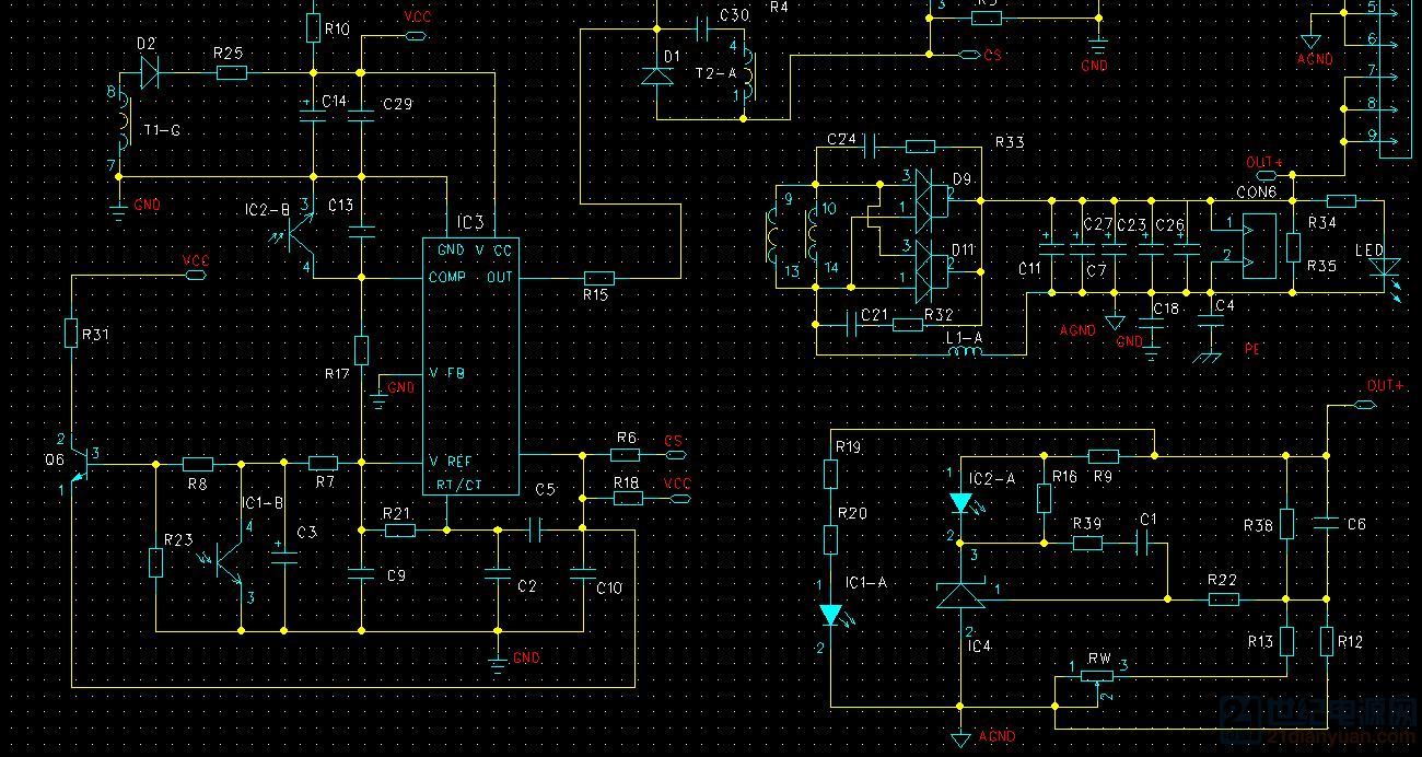 三极管Q6 2SC1815的作用是什么
