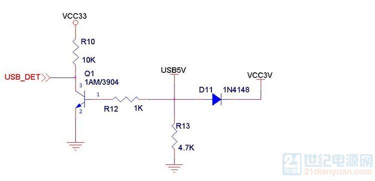 图1.2 在电路中二极管漏电流影响
