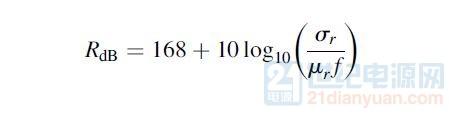 反射损耗的公式