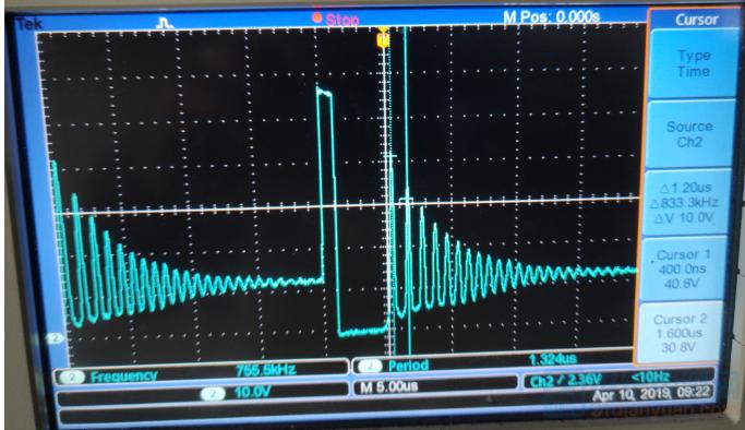 次级二极管波形