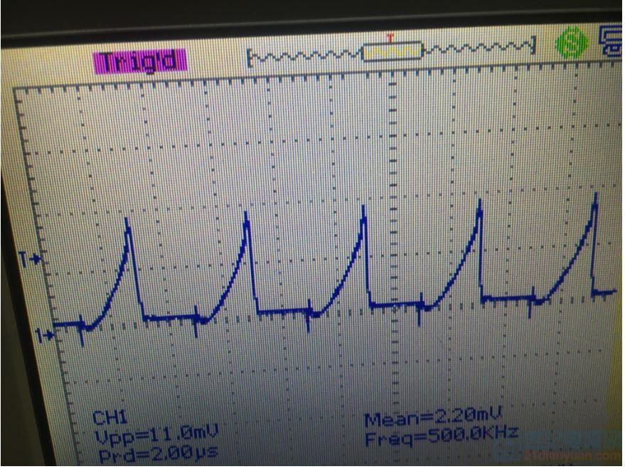 mos管输出波形