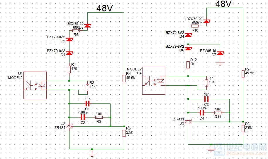 反馈光耦上端供电.png