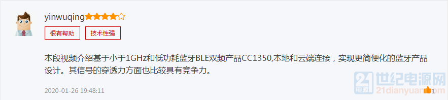 基于小于1GHz和低功耗蓝牙BLE双频产品CC1350.png