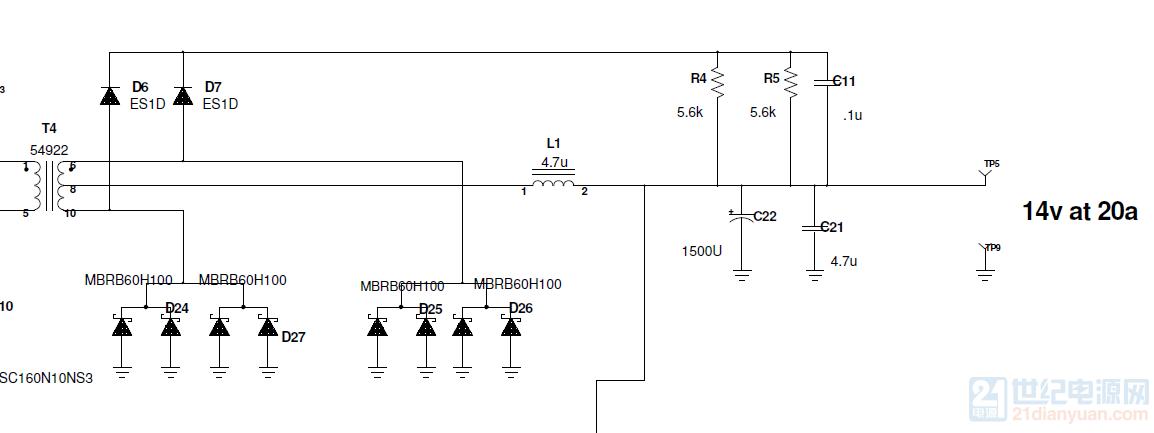 图中的D6 D7  D24 D25 D26 D27起什么作用呢