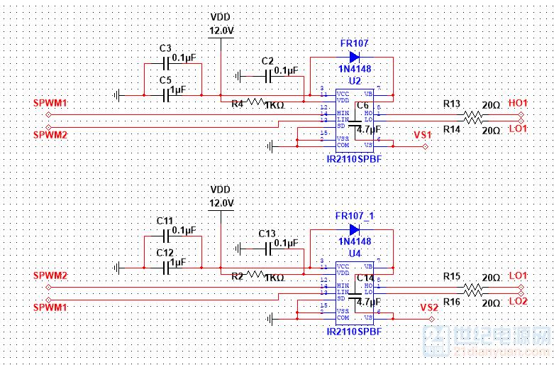 IR2110驱动电路