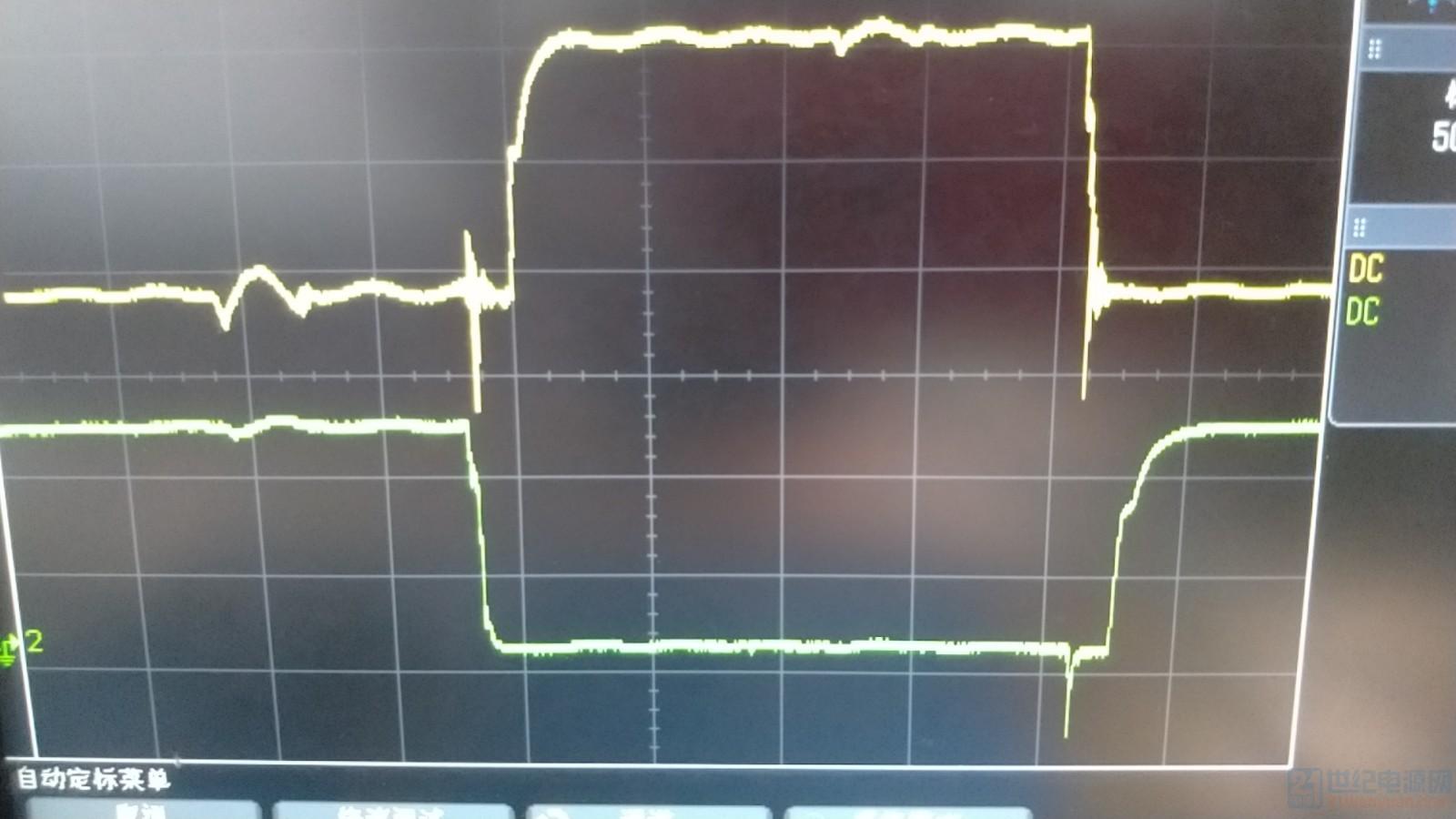 驱动关断下降沿震荡与尖峰幅值有关.jpg