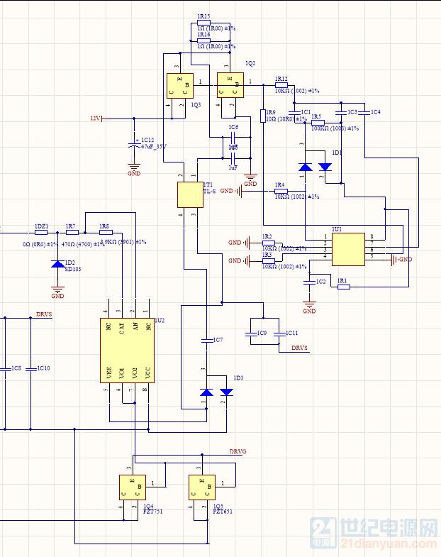 部分原理图中的1U1芯片